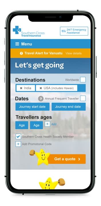 SCTI Website in iPhone 11 Pro