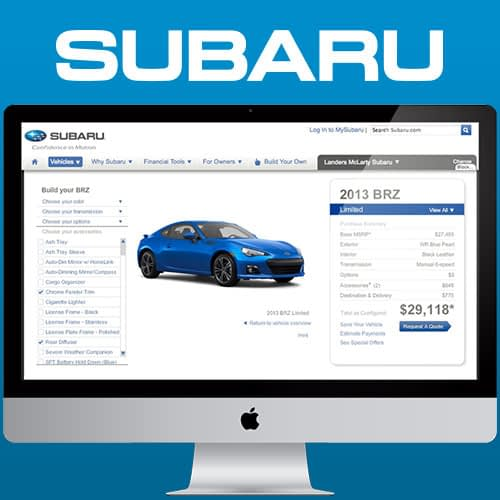 Subaru Digital Agency Services Case Study